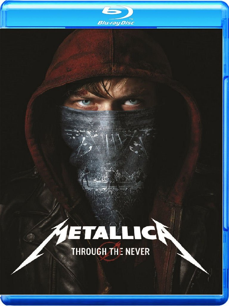 metallica through the never blu-ray