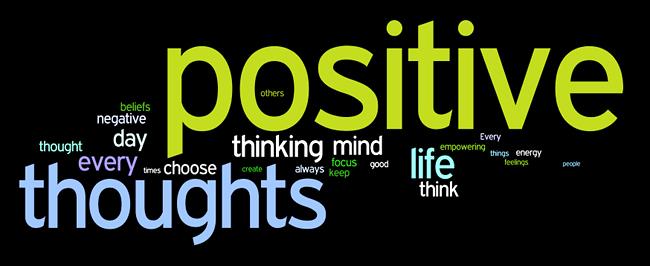 positive thinking affirmations wordle