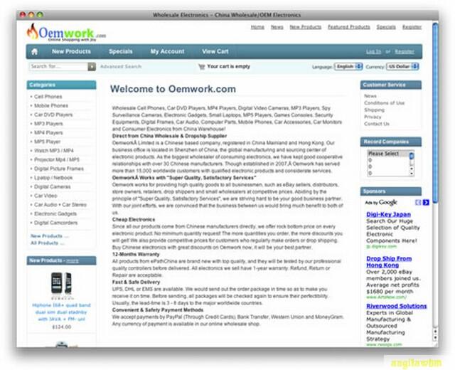 screen1 071 Páginas web para comprar barato en CHINA