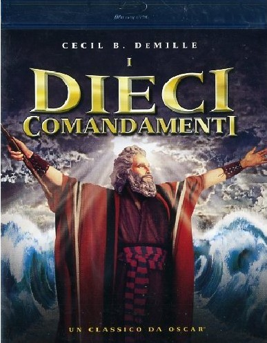 Dieci Comandamenti Blu-Ray Cover