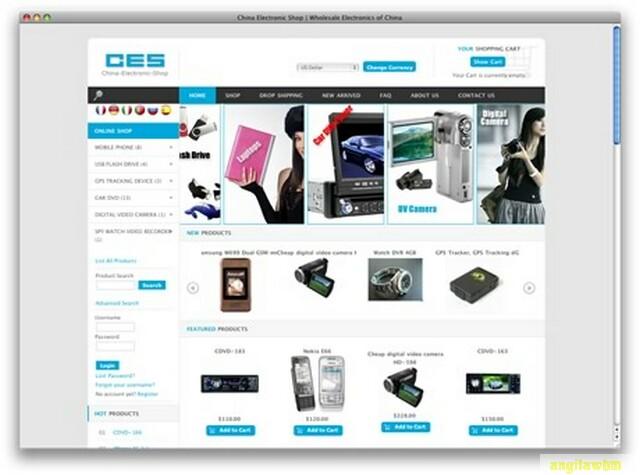 screen1 016 Páginas web para comprar barato en CHINA