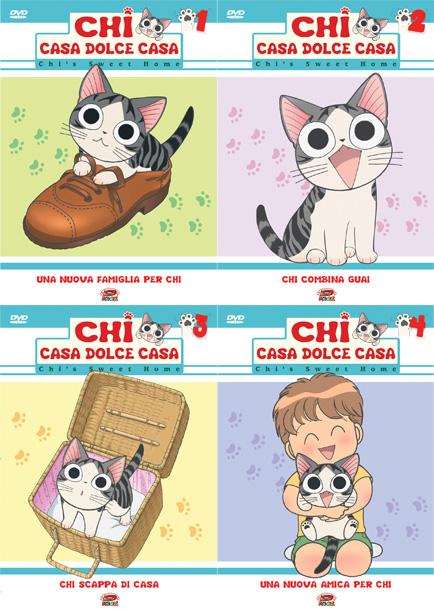Chi vita da gatto dvd manga panini dyni