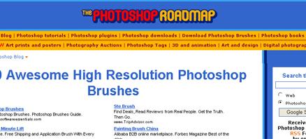 ブラシやベクター画像を配布しているサイト