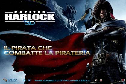 harlock antipirateria
