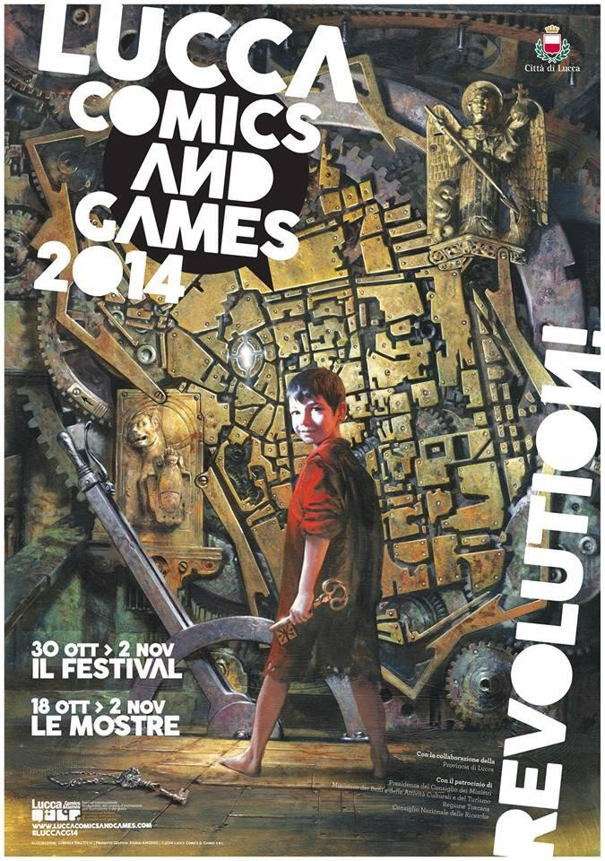 lucca comics and games 2014 poster