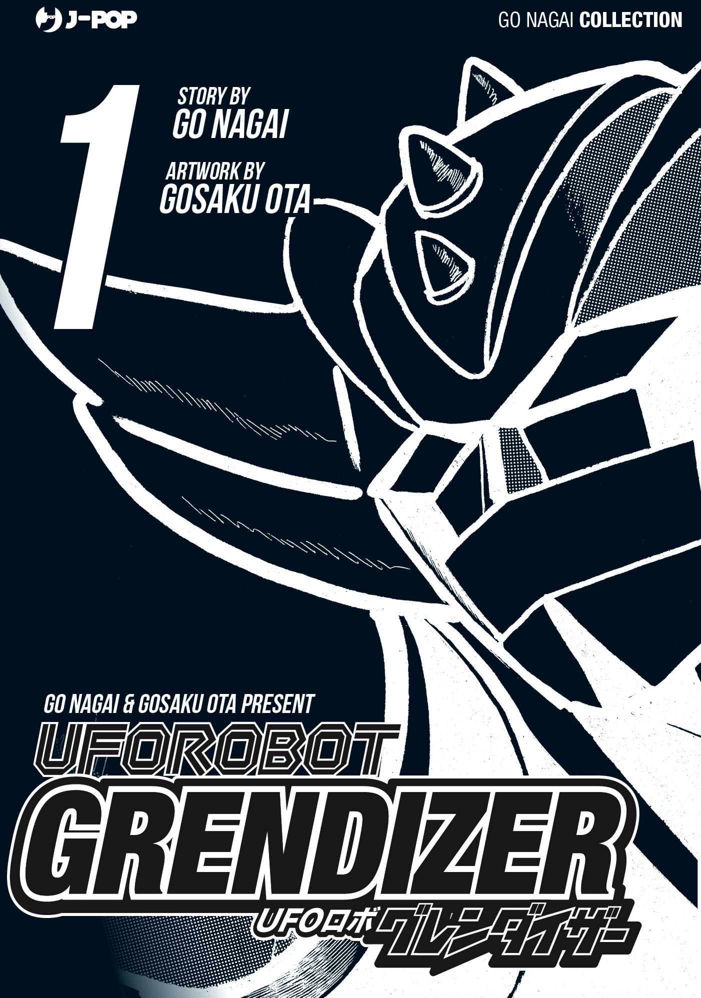 ufo robot grendizer vol. 1 variant cover