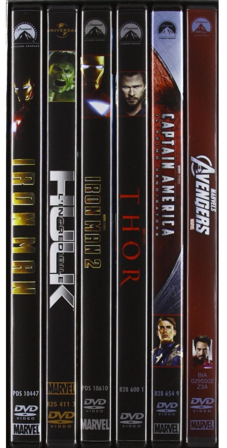 Marverl's avengers collezione dvd