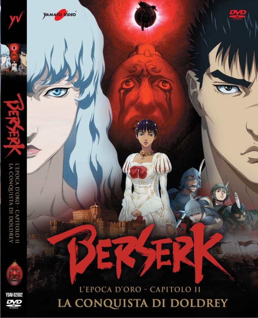 Berserk epoca d'oro II DVD