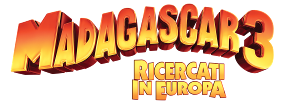 Madagascar 3 logo