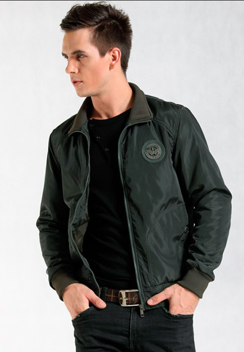 New Military Style Designed Jackets Mens Fashion Slim Fit Bomber ...
