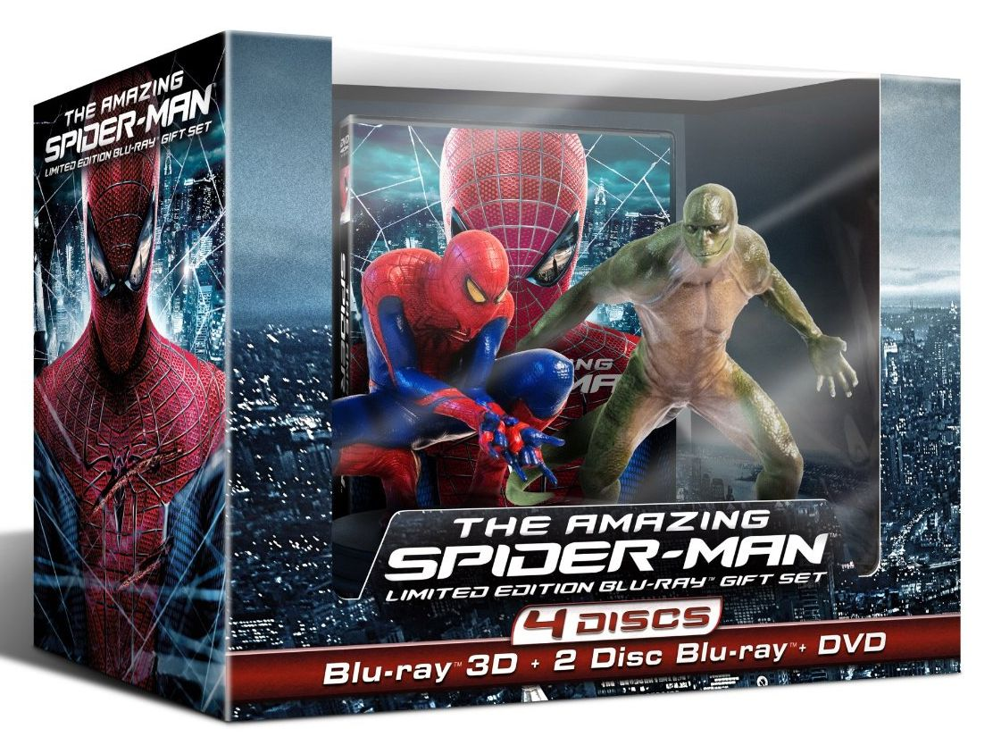 Amazing Spider-man limited edition gift set