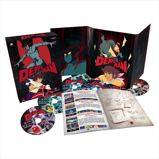 devilman box yamato video