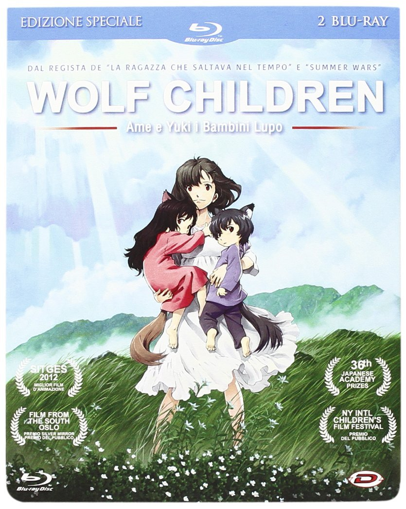 wolf children blu-ray