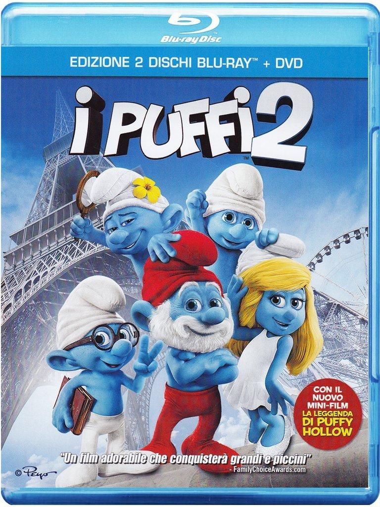 puffi 2 blu-ray