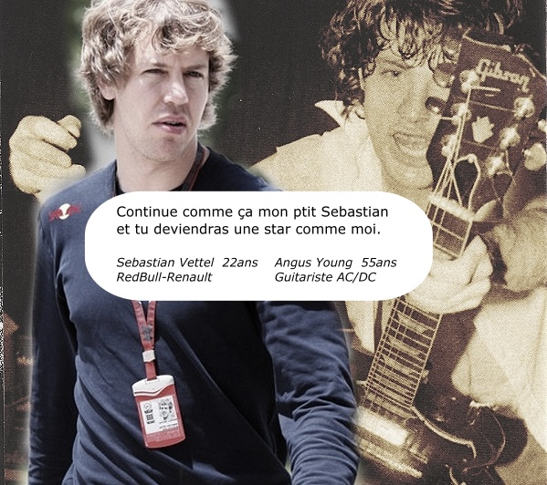 Vettel angus Young Malaisie