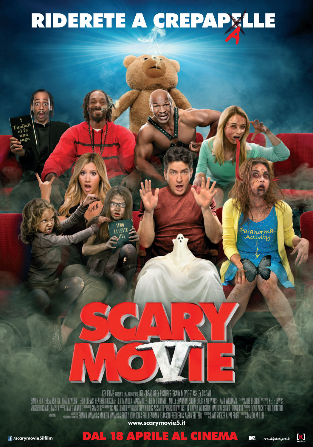 Scary Movie 5 poster italiano