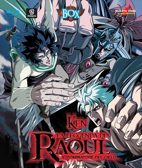 Leggenda di Raoul dominatore del cielo blu-Ray