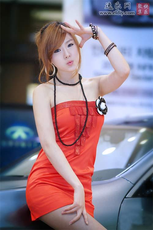 韩国顶级美女车模 黄美姬Hwang Mi Hee | 逸