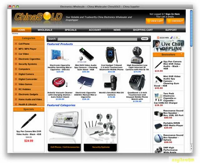 screen1 067 Páginas web para comprar barato en CHINA