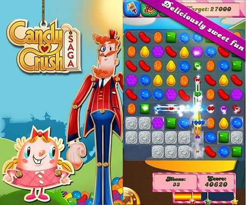 Candy Crush Saga:糖果粉碎传奇