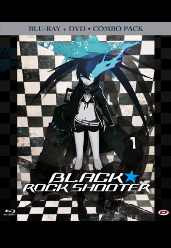 Black Rock Shooter blu-ray+dvd limited dynit