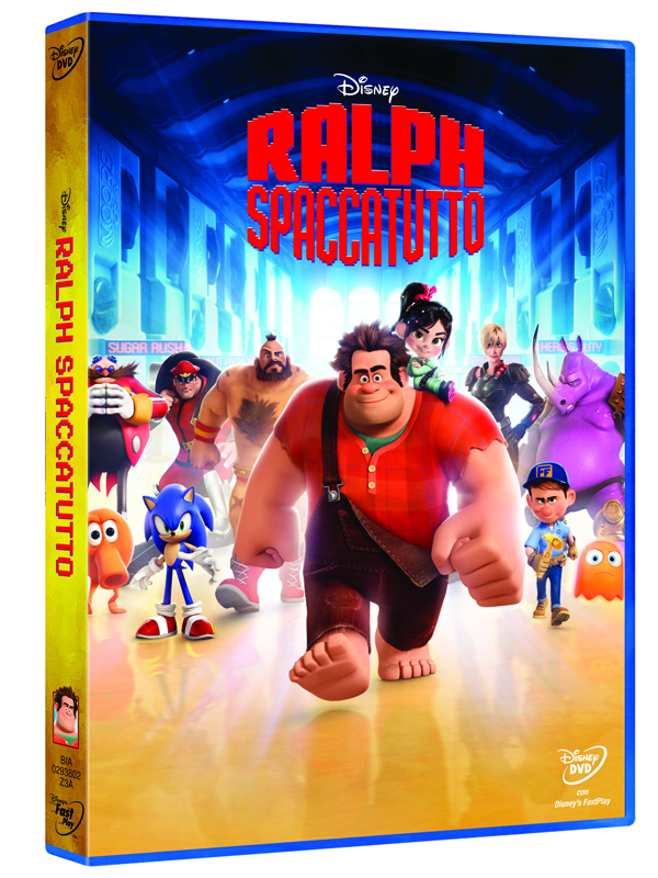 ralph spaccatutto dvd