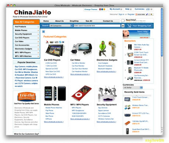 screen1 062 Páginas web para comprar barato en CHINA