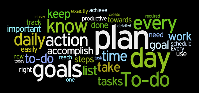 planning affirmations wordle