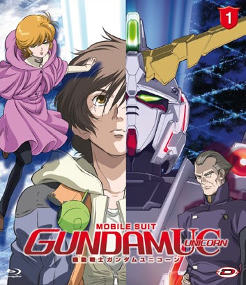 Gundam Unicorn 1 Blu-Ray
