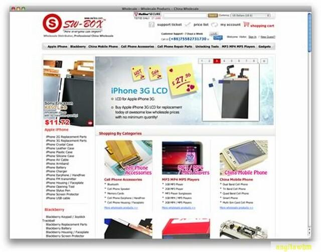 screen1 078 Páginas web para comprar barato en CHINA