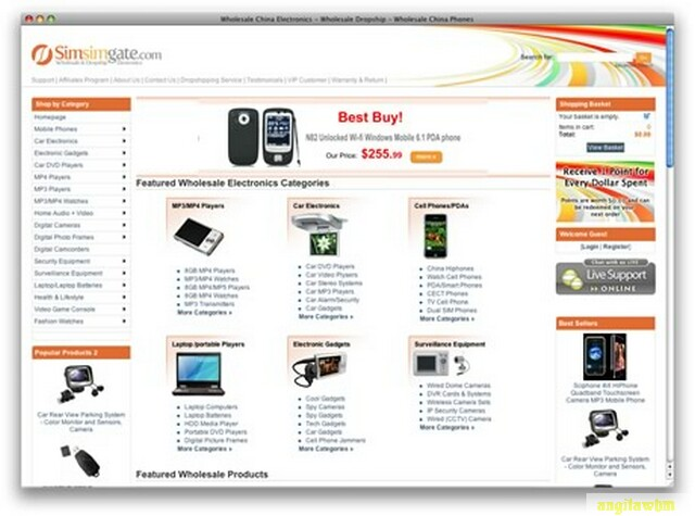 screen1 077 Páginas web para comprar barato en CHINA