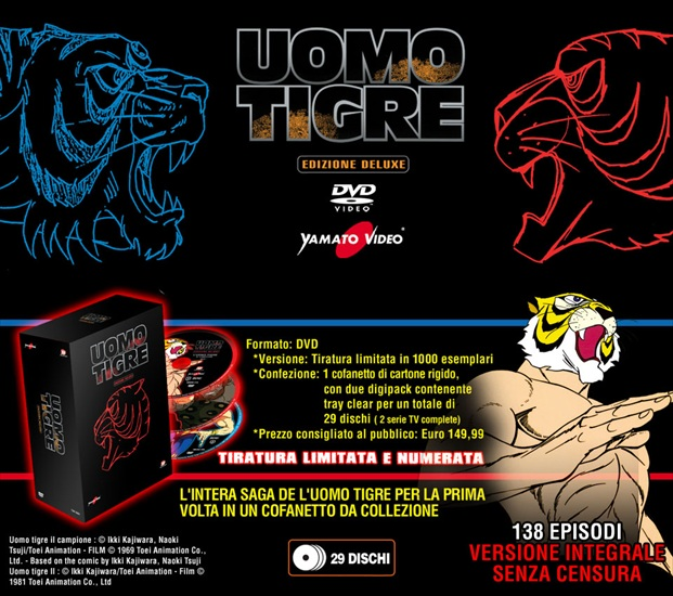 uomo tigre deluxe limited edition dvd