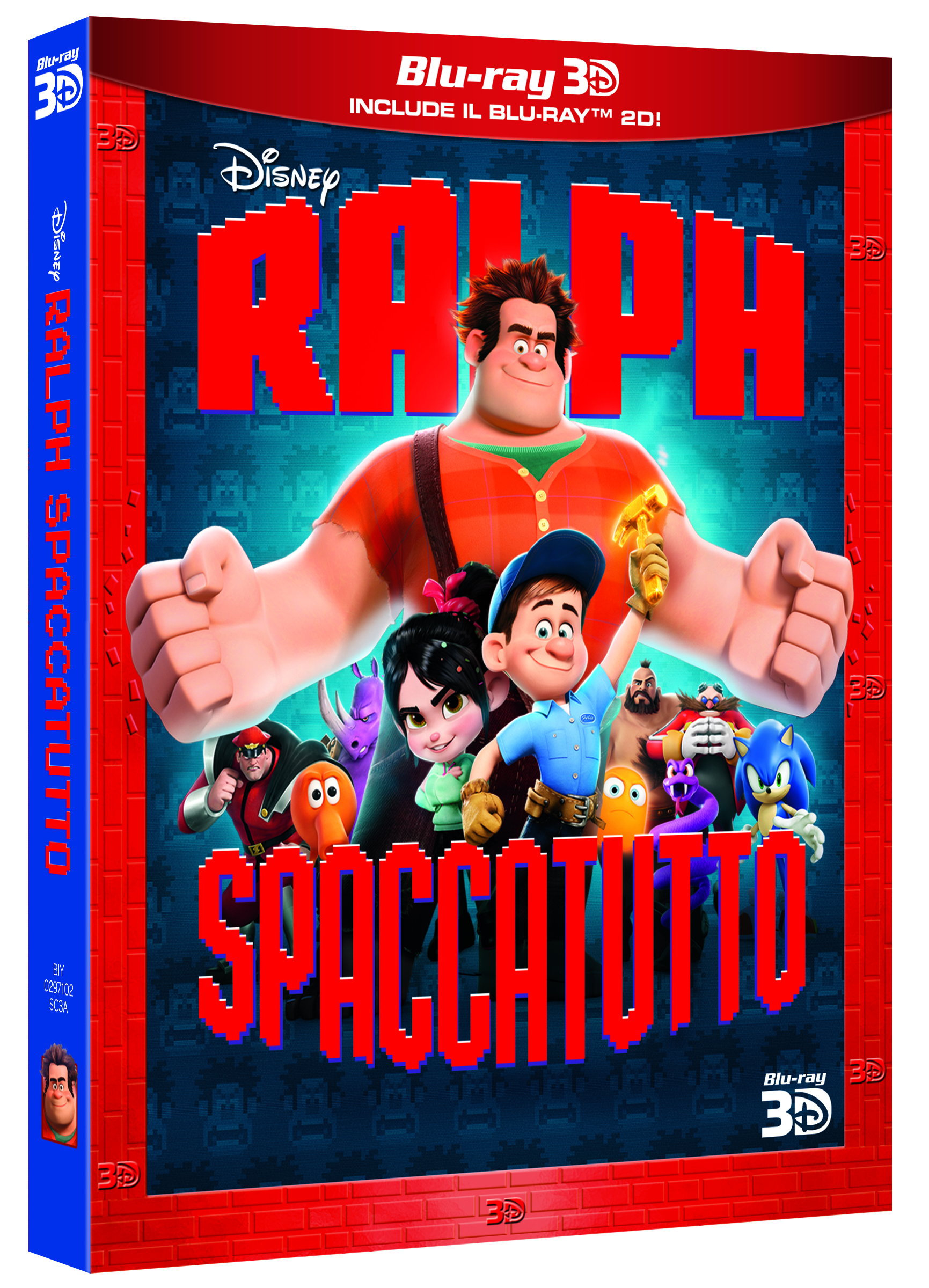 ralph spaccatutto blu-ray 3d