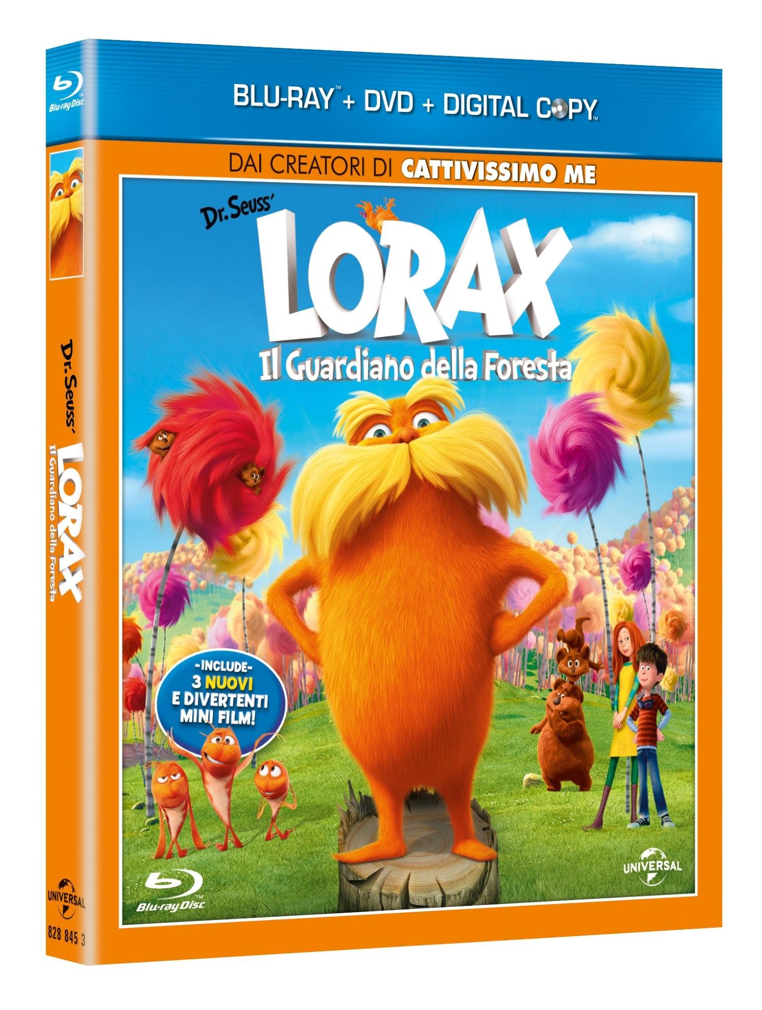 Lorax blu-ray dvd combo