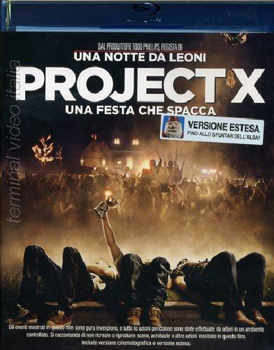Project x una festa che spacca dvd blu-ray