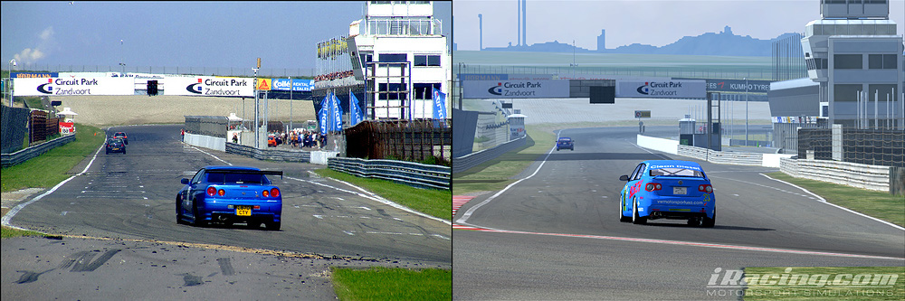 iracing comparaison circuit réel virtuel