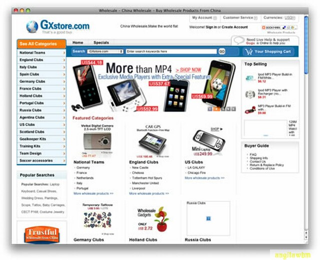 screen1 028 Páginas web para comprar barato en CHINA
