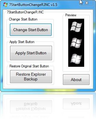 "Rename Start Button. ""Change Start Button"""