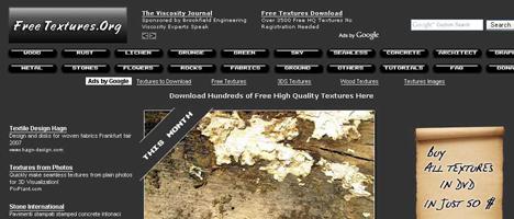 無料でテクスチャが手に入るサイト。しかも商用利用可!
