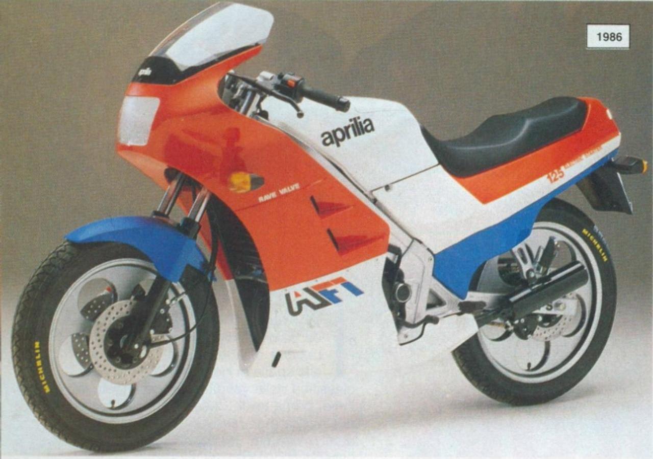 Aprilia AF1 - 125 A EVOLUÇÃO AF1-125_PROJECT108-1986
