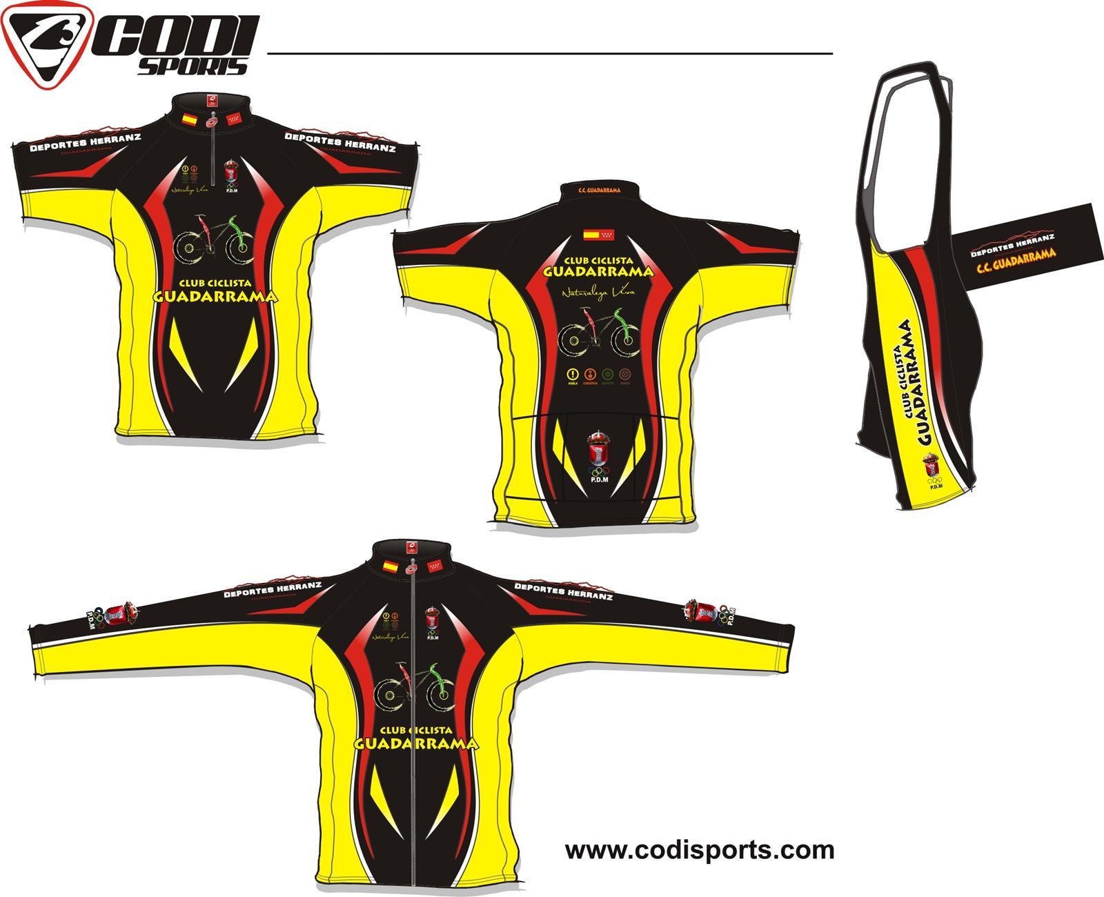 Diseño de la Equipación 2010