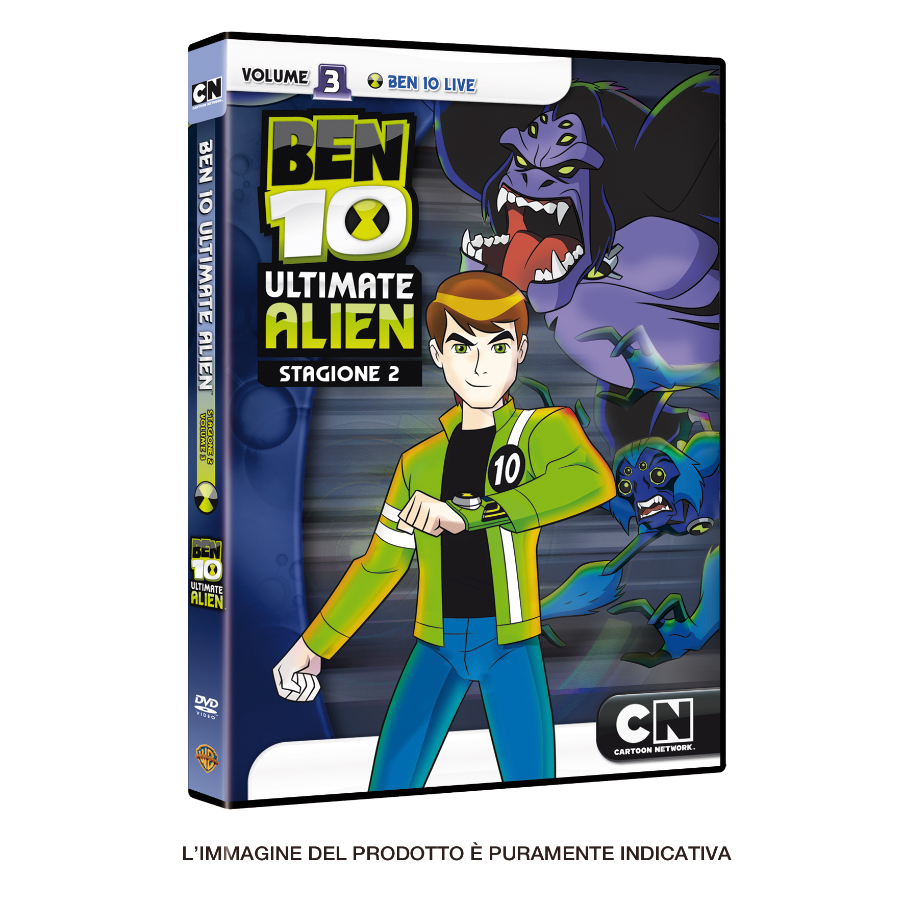 ben10 ultimate alien dvd