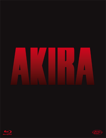 Akira Blu-ray Cover