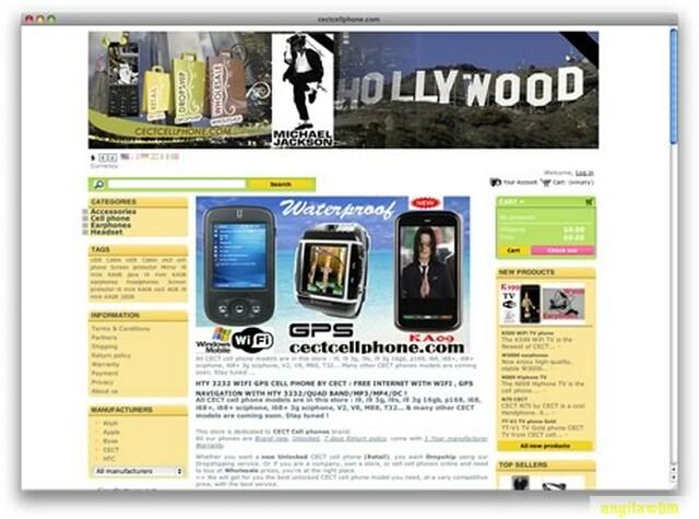 screen1 024 Páginas web para comprar barato en CHINA