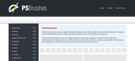 フォトショップブラシの大量配布サイト