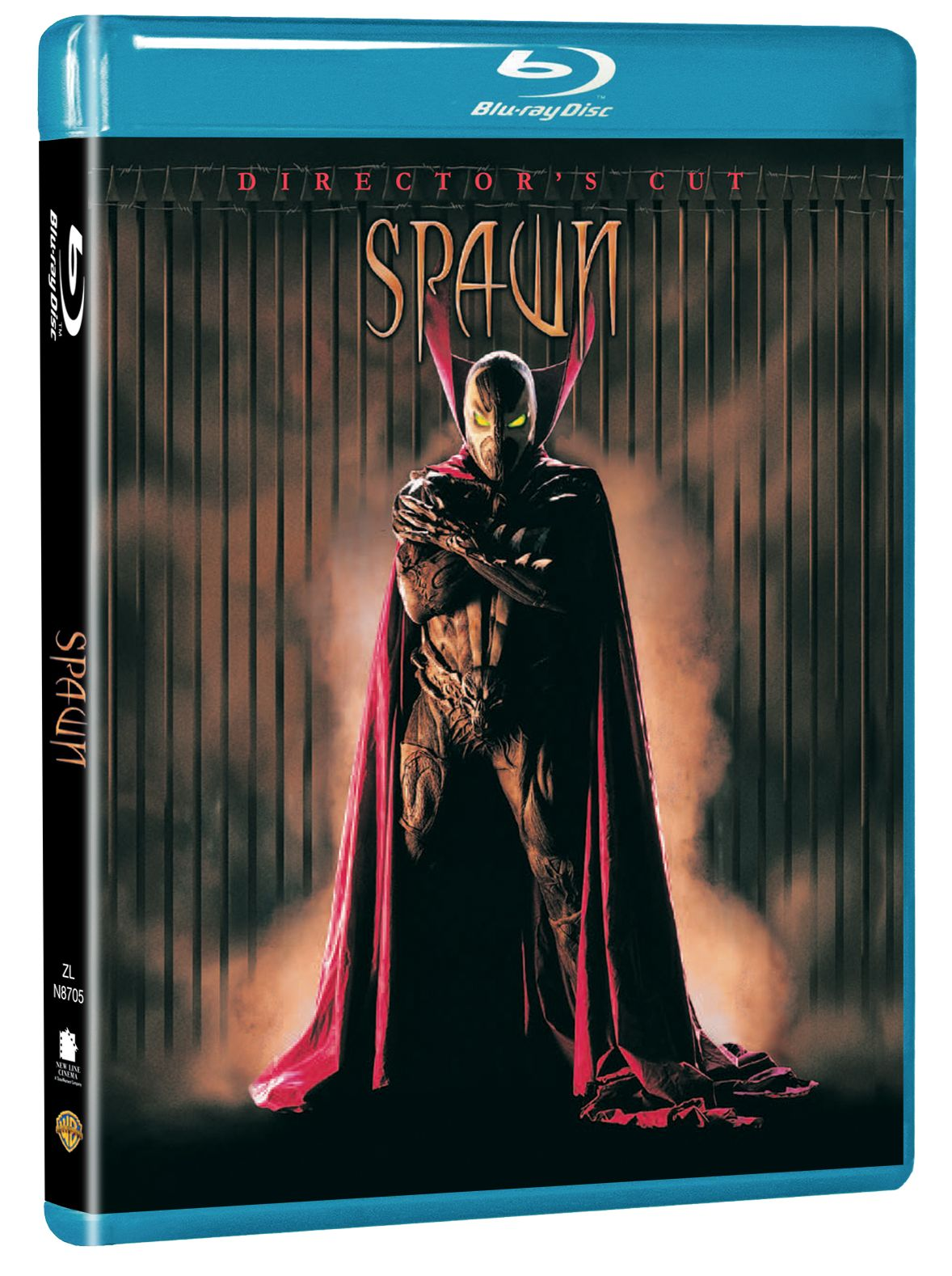 Spawn blu-ray cover copertina