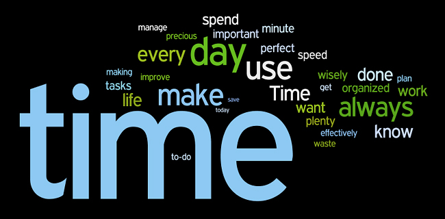 time management affirmations wordle