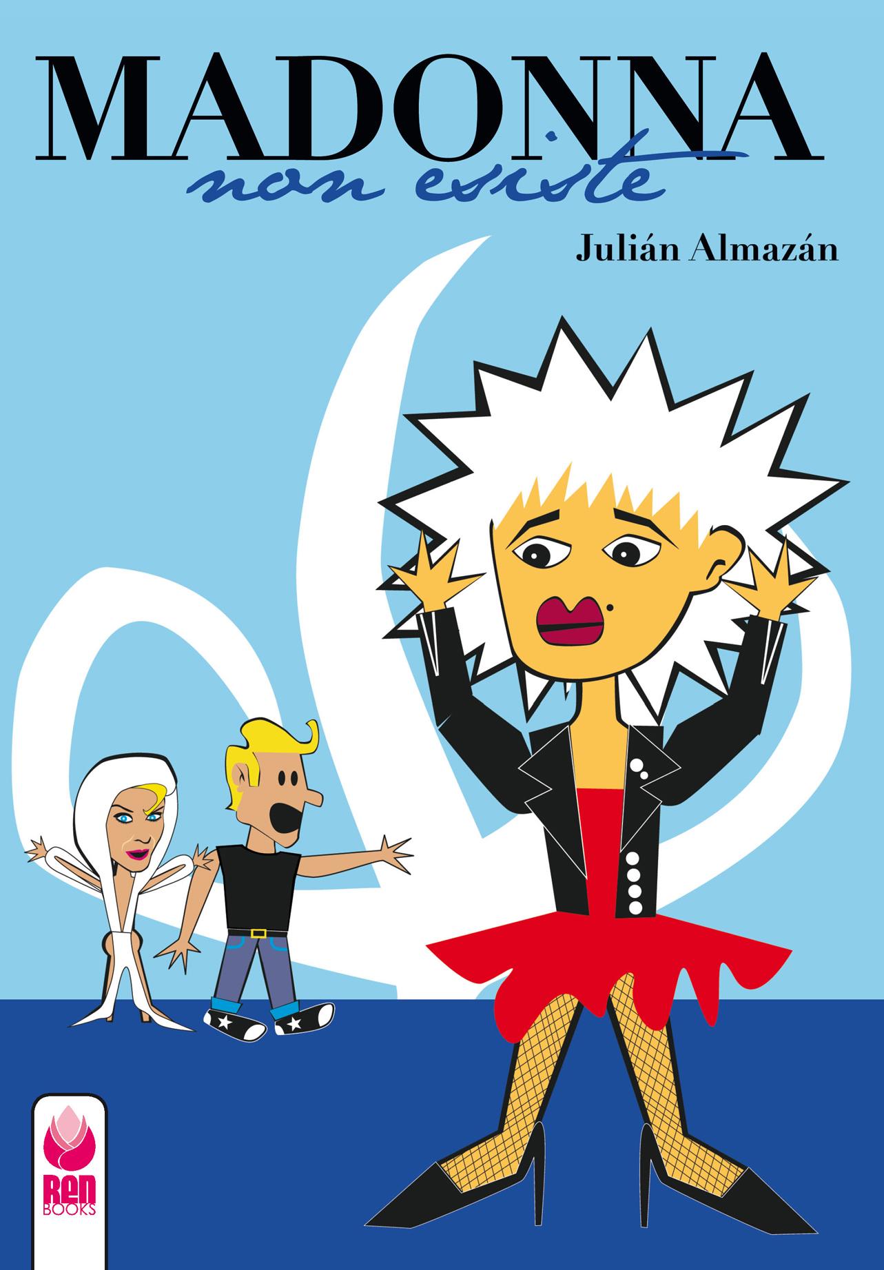 Madonna non esiste, fumetto, cover, ren books