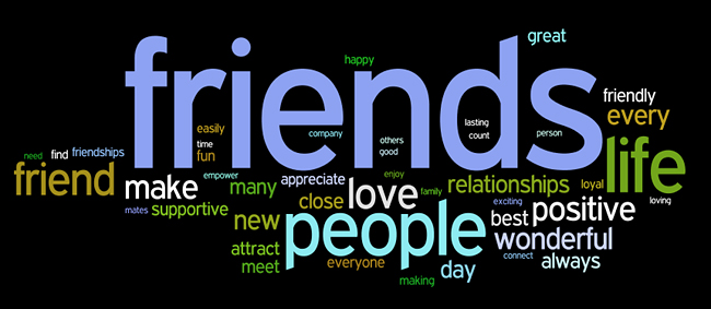 friendship affirmations wordle