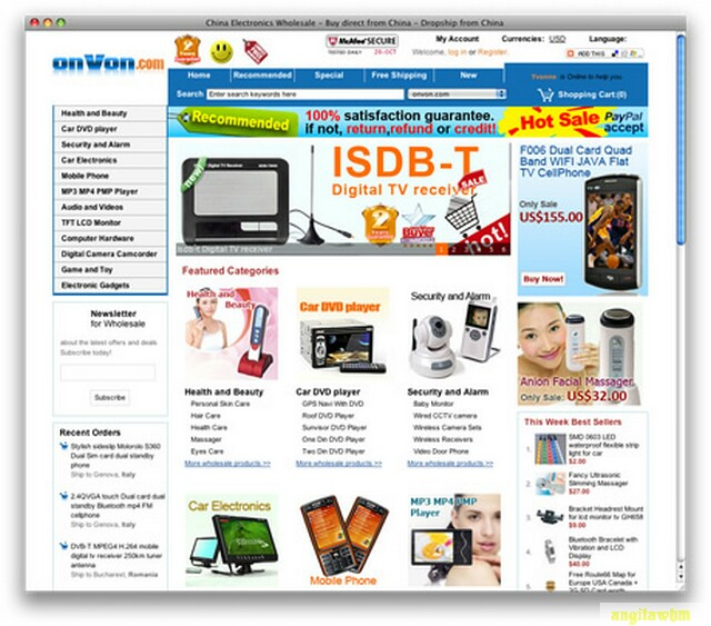 screen1 056 Páginas web para comprar barato en CHINA